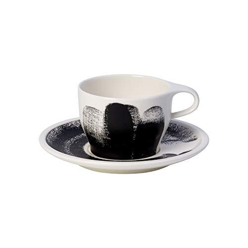 Villeroy & Boch 10-4248-9123 Coffee Passion Awake Cappuccino-Set, Premium Porzellan, 260 milliliters