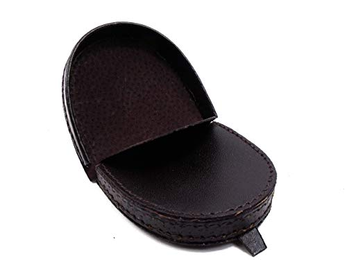 Gents Leather Belt, portamonete in vera pelle, da uomo