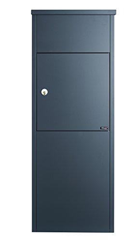 Allux 600 AN Ruko Schloss F54607 Briefkasten groß XXL 1050 x 380 x 230 mm Anthrazit