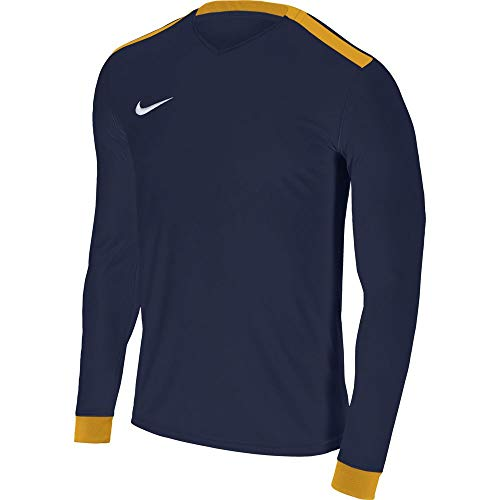 Nike Park Derby II LS, Maillot Enfant, Bleu (midnight navy/university gold/White), XS