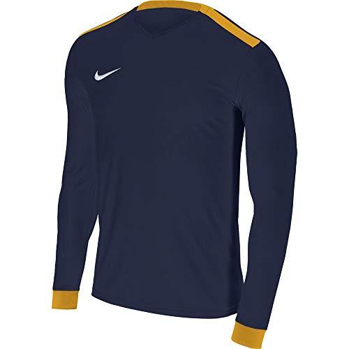 Nike - Running-Longsleeves für Mädchen in Midnight Navy/University Gold, Größe XS