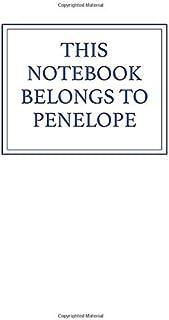 This Notebook Belongs to Penelope