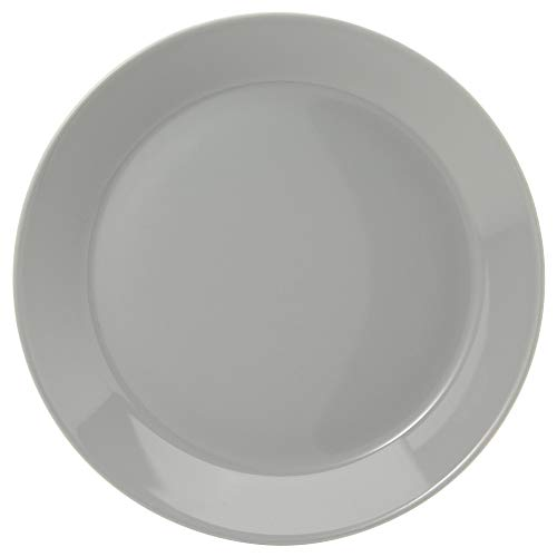 Teema - Set d'assiettes 21 cm de diamètre, Grigio Perla, Höhe: 2,90 cm Durchmesser: 21,60 cm