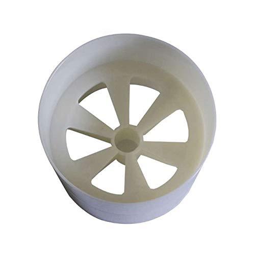 WUQIUYU Weißer Plastikgolflochbecher