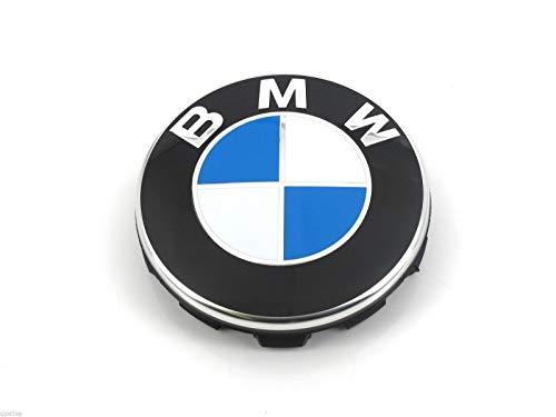 Tapa de buje original BMW con borde cromado