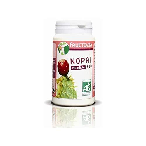 Fructivia - Pilulier De Nopal Bio 120 Gelules