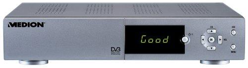 Medion MDS 4001 Digitaler Satelliten-Receiver Free-to-Air mit Festplattenrekorder 20GB