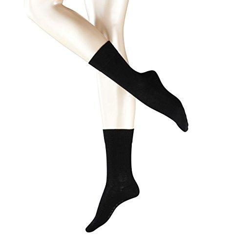 FALKE Damen Socken London Sensitive 3er Pack, Größe:39-42;Farbe:Black (3009)