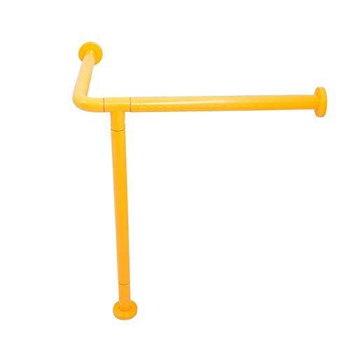 Handlauf für Waschtisch, behindertengerechte Säulenbecken für Rollstuhlfahrer, Gesichtswaschbeckengriffe AMINIY (Color : Yellow)
