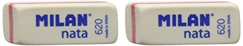 Milan BPM10044 - Pack de 2 gomas de borrar