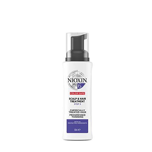 NIOXIN - Tratamiento Scalp Treatment - para Cabello Tratado Químicamente y muy Debilitado - Sistema 6 - paso 3 - 100ml