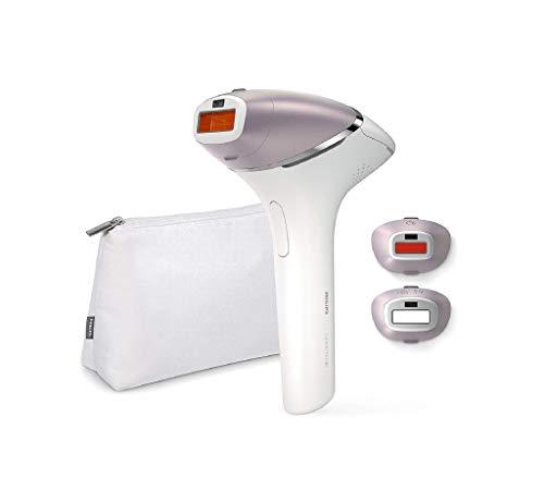 Philips Lumea Prestige IPL Haarentfernungsgerät BRI954 - Lichtbasierte, kabellose Haarentfernung für eine langanhaltend glatte Haut - inkl. 3 spezieller Aufsätze für Körper, Gesicht, Bikini-Zone
