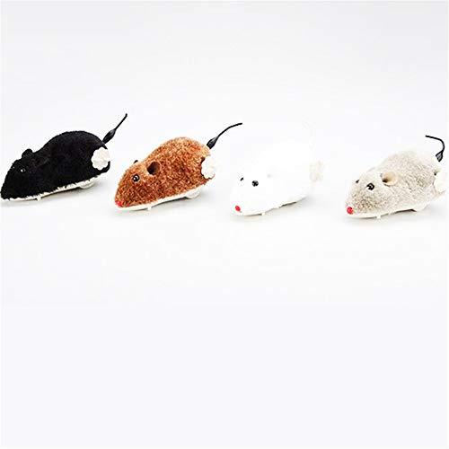 YOUPOU Juguete creativo lindo gato juguete gato ratón gato juguete juguete interactivo reloj juguete ratón molde color aleatorio