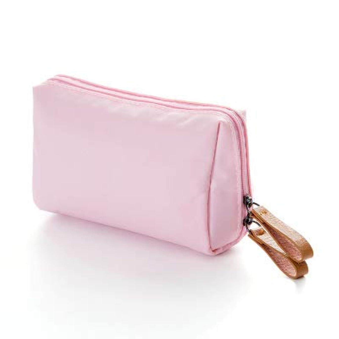付属品ヒール感じるKI¢KI 仕切りポケットつき メイクポーチ 軽くてコンパクト (ピンク)