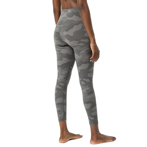 Pantalones de Yoga de Fitness de Celulitis de Camuflaje Desnudo Suave para Mujer Pantalones de Correr de Gimnasio Anti-Push-up de Cintura Alta en Cuclillas C L