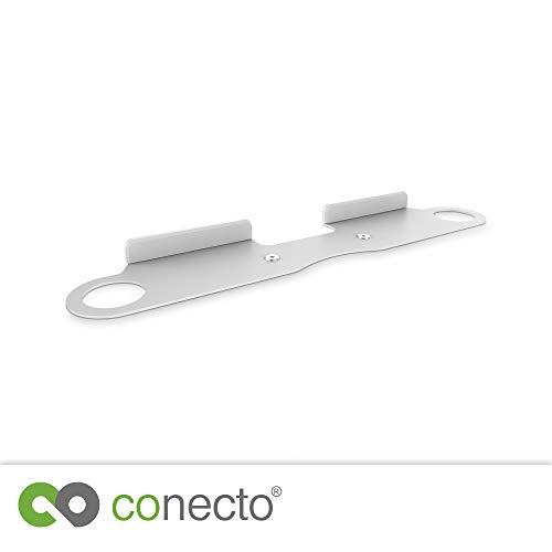 conecto CC50653 Wandhalterung kompatibel mit SONOS Beam Soundbar, Traglast: 5kg, weiß