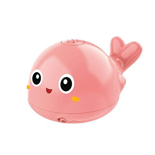 ShunFuET Juguetes de baño para niños pequeños, rociador eléctrico de inducción de Delfines, Juguete de Agua, luz, rociador automático de inducción, Juguetes de bañera para bebés, Regalos Ideales