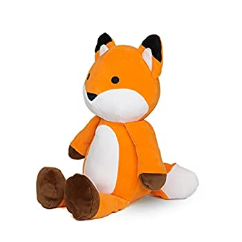 Avocatt Orange Huggable Fox Plush - 10 Inches Stuffed Animal Plushie - Hug and Cuddle with Squishy Soft Fabric and Stuffing - Cute Toy Gift for Boys and Girls