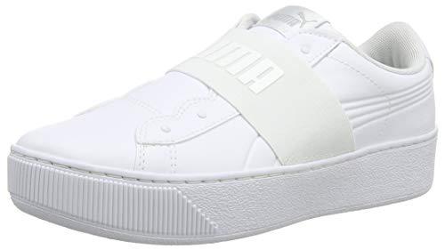 Puma Damen Vikky Platform Elastic Sneaker, Weiß White White 02, 39 EU