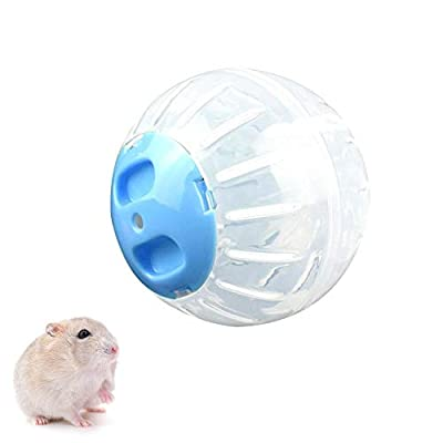 KOBWA Hamster Running Ball, Healthy and Safe Dwarf Hamster Toy, Mini Run-About Exercise Wheels Ball for Small Animal Running Jogging - Easy to Clean by KOBWA