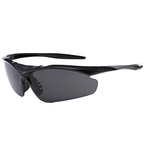 FENGSHUAI Gafas de Sol Deportivas, portátil a Prueba de Viento al Aire Libre con Traje de 5 Lentes para Montar a Caballo, Adecuado para Correr, Ciclismo, esquí