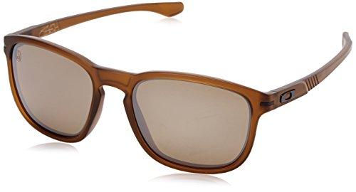 Oakley Herren Enduro Wayfarer Sonnenbrille, Shaun White Matte Dark Amber/Tungsten Iridium Polarized (S3)