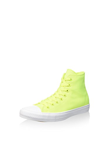 Converse Unisex-Erwachsene Ct As Ii Hi Neon Poly Hightop Sneaker, Limette/weiß, 36.5 EU