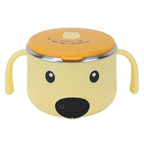Isolierschale Lunchbox -Lunchbox Isolierschale Kindergeschirr Schüssel mit konstanter Temperatur USB-Aufladung