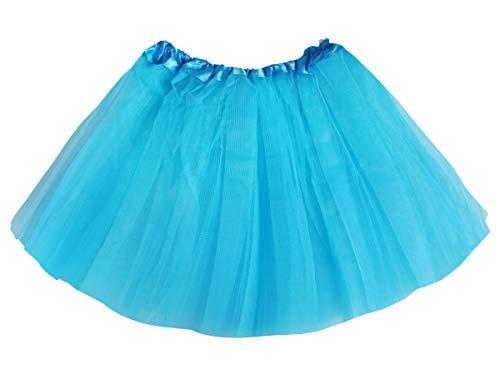Gonna in Tulle   Tutu   per Adulti   Donna   Blu   Costume Ballerina   Balletto Classico   Sottoveste   Principessa   Carnevale