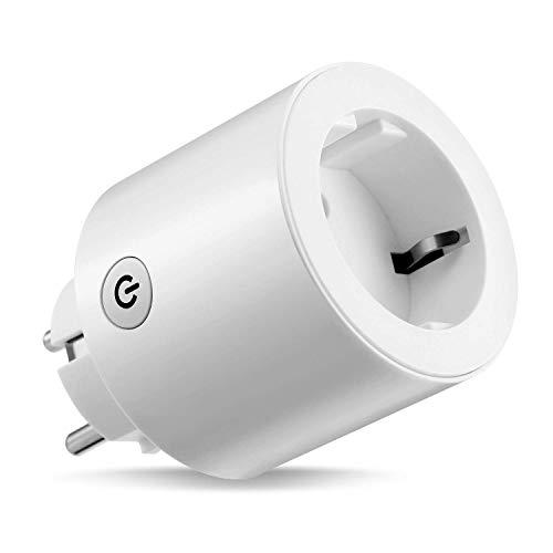 YiYouTech EU presa intelligente Mini WiFi Smart Plug/Outlet compatibile con Alexa Google Assistant non necessita di hub e presa switch con timer, telecomando app senza statistica del prezzo 1 pz.