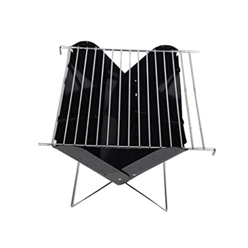 DIAOD Grill Rack Faltbare Eisenplatte Tragbare Grill Rack Tool Grill Rack Outdoor Campinggeräte