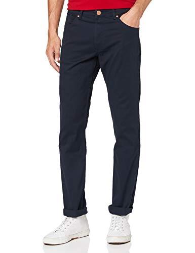 Wrangler Greensboro Jeans, Blu Navy QW3, 32W / 34L Uomo