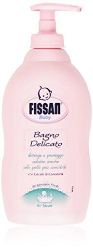 Fissan Sanftes Bad, Reinigt und schützt mit Kamillenextrakten für Kinder, 400 ml