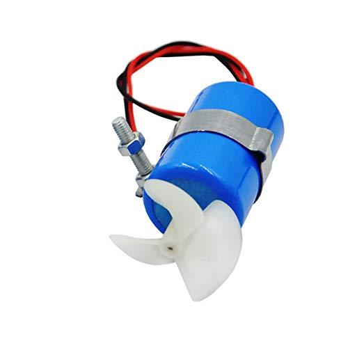 SNOWINSPRING Motore per Barca RC 7.4V 16800 RPM Kit Elica Motore Propulsore Subacqueo per Parti Sottomarine Barca Modello Robot DIY - CCW
