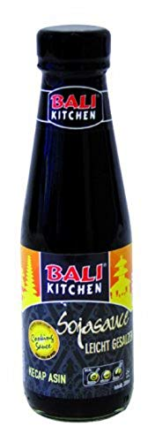 Bali Kitchen Sojasauce, salzig, 3er Pack (3 x 200 ml)