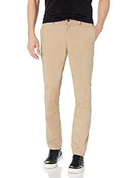 Amazon Essentials Men s Skinny-Fit Lightweight Stretch Pant Khaki 34W x 30L