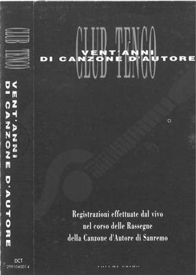 Club Tenco (versione audio cassetta)