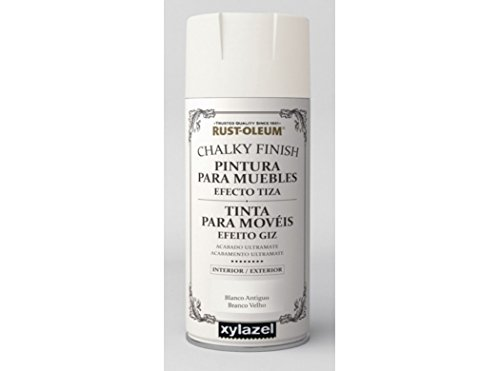 Spray Efecto Tiza Chalk Paint Rust-Oleum Xylazel - 802 Blanco Antiguo