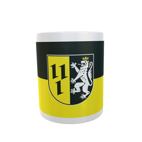 U24 Tasse Kaffeebecher Mug Cup Flagge Bissendorf