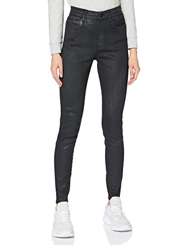 G-STAR RAW Womens G-Star Shape High Waist Super Skinny Jeans, Black Obsidian Cobler B732-B154, 32W / L32