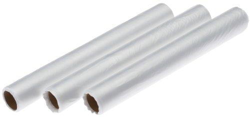 Clatronic Ersatzfolien für FS 3261 & FS 777 Vakuum-Folienschweißgerät, 3 Rollen Ersatzfolien à 10 m, transparent