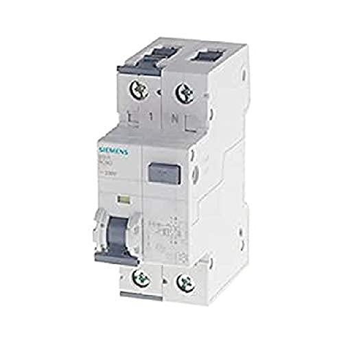 Siemens 5sv.Class Un interruptor diferencial, 2 polos, 16.A, 30.MA, 70.mm