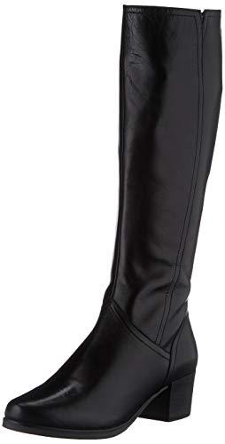 CAPRICE Damen 9-9-25513-25 Kniehohe Stiefel, Black Nappa, 39 EU