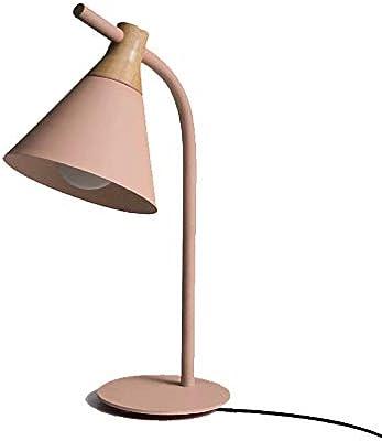 LCTCTD Lámpara de Mesa LED de Hierro Forjado, Pantalla de Hierro ...