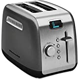 Kitchenaid KMT222QG 2-Slice Toaster with Manual High-Lift Lever and...