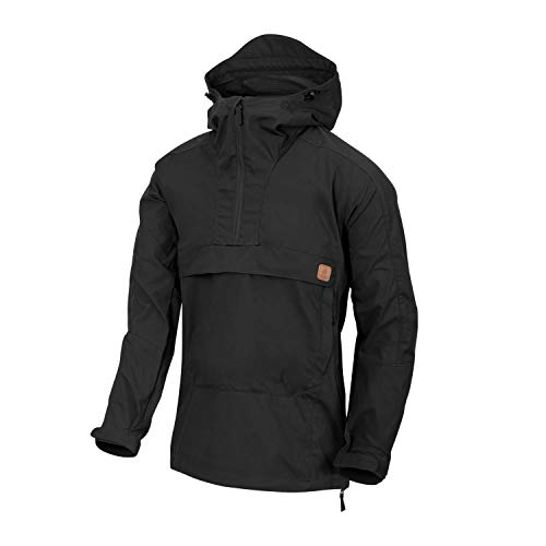 Helikon-Tex Woodsman Anorak Jacket - DuraCanvas SCHWARZ L/Regular