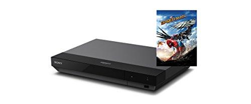 Sony UBPX700SPIIB.YE - Reproductor de Blu-ray 4K UHD incluye Blu-ray Disc 4K Ultra HD Spiderman Homecoming de regalo