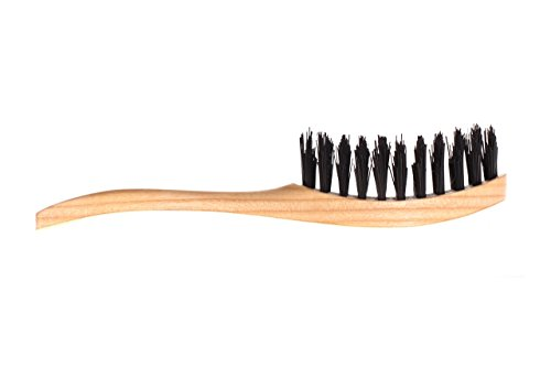 "All natural Eco Womens boar bristle paddle hair brush ""Perfect Strand"" Organic ladies hairbrush handmade by WildGood bridal shower gift idea"