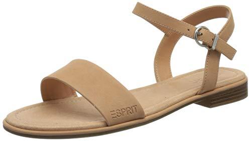 Esprit Damen 041EK1W322 Sandale, 820 ORANGE, 38 EU