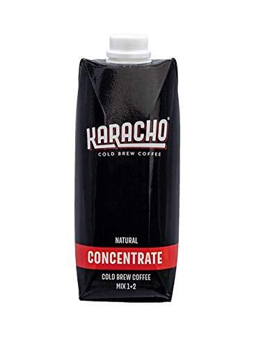 Karacho Concentrate | Cold Brew Konzentrat | 100% natürlich ohne Instant | Kaffee Konzentrat | Basis für innovative Kaffeegetränke, Cocktails, Eiskaffee | 500 ml
